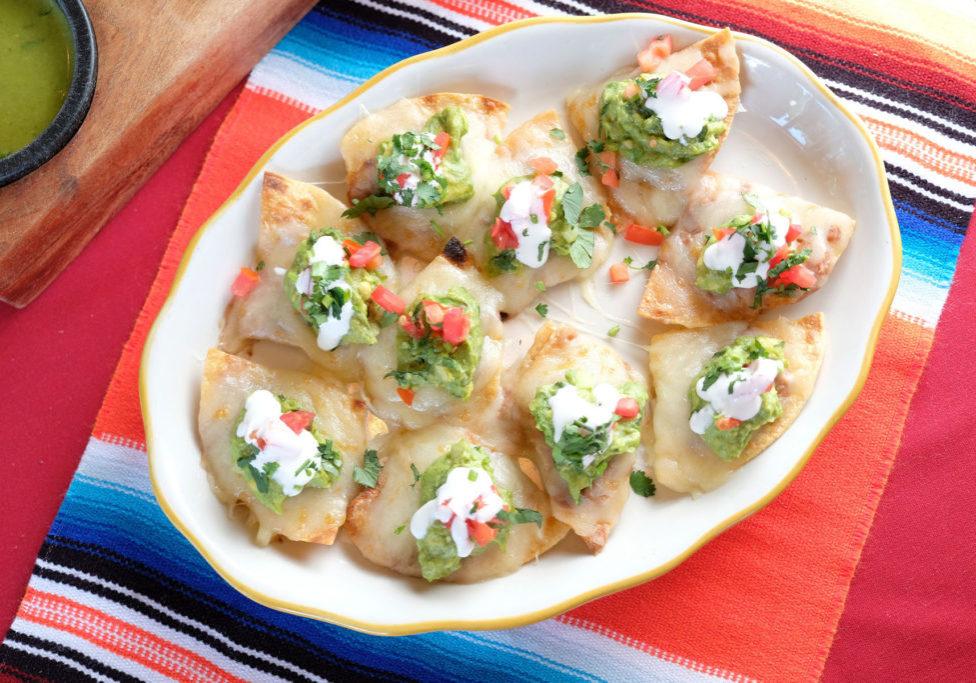 Nachos or Garnachos at Taquerias el Mexicano